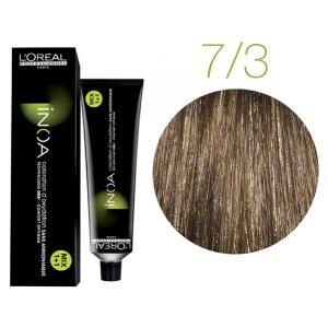 Крем-фарба для волосся L'Oreal Professionnel INOA Mix 1+1 №7/3 Золотистий блонд 60 мл - 00-00004750