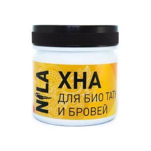 Хна для фарбування брів і біо-тату NILA Коричнева 100 г - 00-00007019