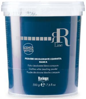Порошок для висвітлення волосся, білий (в банці) RR Line 500 мл - 00-00007175