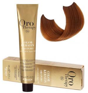 Безаміачна крем-фарба для волосся Fanola Oro Therapy №8/34  Blond Clair 100 мл - 00-00007431