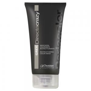 Тонуюча маска для волосся Oyster Cosmetics 'Grey' Directa Crazy 150 мл - 00-00007464