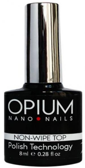Закріплювач для гель-лаку без липкого шару Opium No Wipe Top 8 мл - 00-00008435