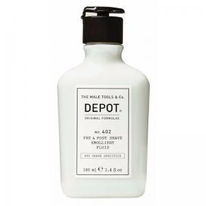 Пом'якшуюча рідина до та після гоління Depot №402 100 мл - 00-00008628