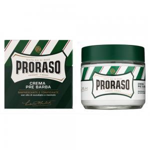 Крем перед голінням з екстрактом евкаліпту та ментолом Proraso Green Line 100 мл - 00-00009119