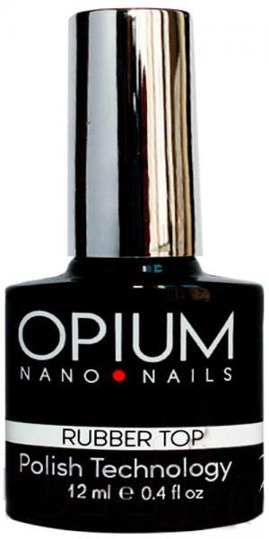 Каучуковий топ для гель-лаку Opium Rubber Top Coat 12 мл - 00-00009313