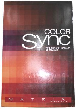 Фарб-карта MATRIX color/sync  - 00-00009680