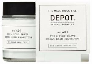 Крем захисний до і після гоління Depot №401 10 мл - 00-00010087