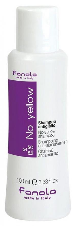 Шампунь для нейтралізації жовтизни Fanola No Yellow 100 мл - 00-00010869
