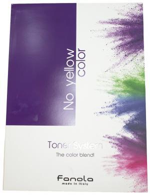 Фарб-карта  TONER No Yellow - 00-00010891
