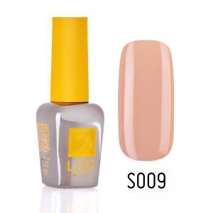 Гель-лак для нігтів LEO seasons №009 Щільний бежевий з рожевим відтінком (емаль) 9 мл - 00-00011286