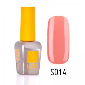 Гель-лак для нігтів LEO seasons №014 Щільний кораловий (емаль) 9 мл - 00-00011287