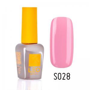 Гель-лак для нігтів LEO seasons №028 Щільний світлий рожевий (емаль) 9 мл - 00-00011294