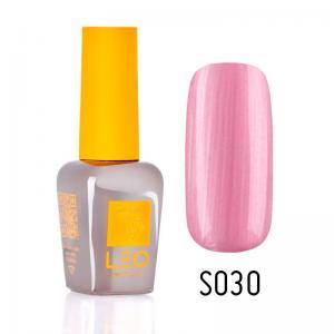 Гель-лак для нігтів LEO seasons №030 Щільний рожевий перламутр (емаль) 9 мл - 00-00011296