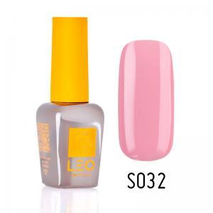 Гель-лак для нігтів LEO seasons №032 Щільний блідо-рожевий (емаль) 9 мл - 00-00011298