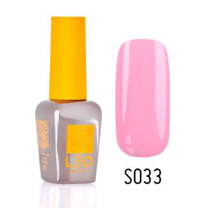 Гель-лак для нігтів LEO seasons №033 Щільний перлинно-рожевий (емаль) 9 мл - 00-00011299