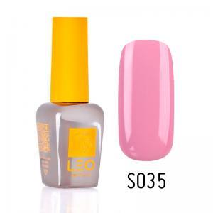 Гель-лак для нігтів LEO seasons №035 Щільний блідий кизил (емаль) 9 мл - 00-00011301