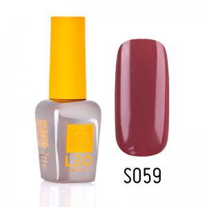 Гель-лак для нігтів LEO seasons №059 Щільний блідий марсала (емаль) 9 мл - 00-00011328