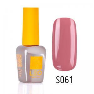 Гель-лак для нігтів LEO seasons №061 Щільний темний рожево-бежевий (емаль) 9 мл - 00-00011329