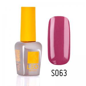 Гель-лак для нігтів LEO seasons №063 Щільний ягідний (емаль) 9 мл - 00-00011331