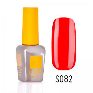 Гель-лак для нігтів LEO seasons №082 Щільний яскравий червоний (емаль) 9 мл - 00-00011339