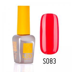 Гель-лак для нігтів LEO seasons №083 Щільний коралово-червоний (емаль) 9 мл - 00-00011340