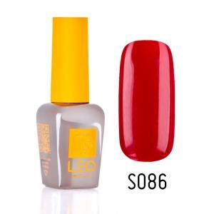 Гель-лак для нігтів LEO seasons №086 Щільний бордово-червоний (емаль) 9 мл - 00-00011342