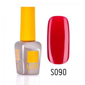 Гель-лак для нігтів LEO seasons №090 Щільний червоний (емаль) 9 мл - 00-00011345