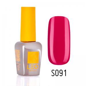 Гель-лак для нігтів LEO seasons №091 Щільний маджента (емаль) 9 мл - 00-00011346