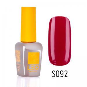 Гель-лак для нігтів LEO seasons №092 Щільний темний червоний (емаль) 9 мл - 00-00011347