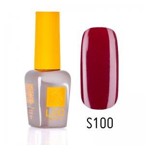 Гель-лак для нігтів LEO seasons №100 Щільний бордовий (емаль) 9 мл - 00-00011350