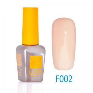 Гель-лак Leo (french) для нігтів №002 Напівпрозорий рожевий беж 9 мл - 00-00011452