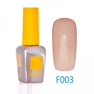 Гель-лак Leo (french) для нігтів №003 Напівпрозорий світло-коричневий 9 мл - 00-00011453