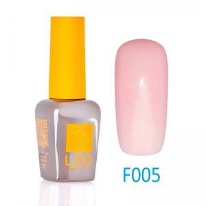 Гель-лак Leo (french) для нігтів №005 Напівпрозорий ніжно-рожевий9 мл - 00-00011455