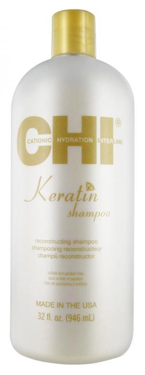 Шампунь відновлюючий з кератином Chi Keratin Reconstructing Shampoo 946 мл - 00-00011508