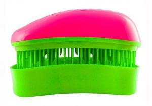 Щітка для волосся Dessata Mini фуксія-лайм - 00-00011840