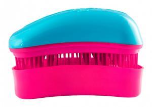 Щітка для волосся Dessata Mini бірюза-фуксія - 00-00011842