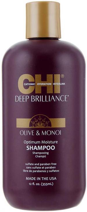Шампунь для пошкодженого волосся CHI Deep Brilliance Optimum Moisture 355мл - 00-00012133