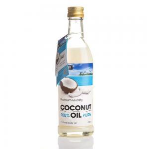 Олія кокосова рафінована Hillary Premium Quality Coconut Oil 250 мл - 00-00012223